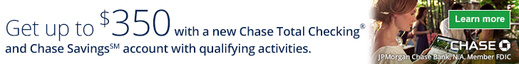 Chase $350 Coupon Code
