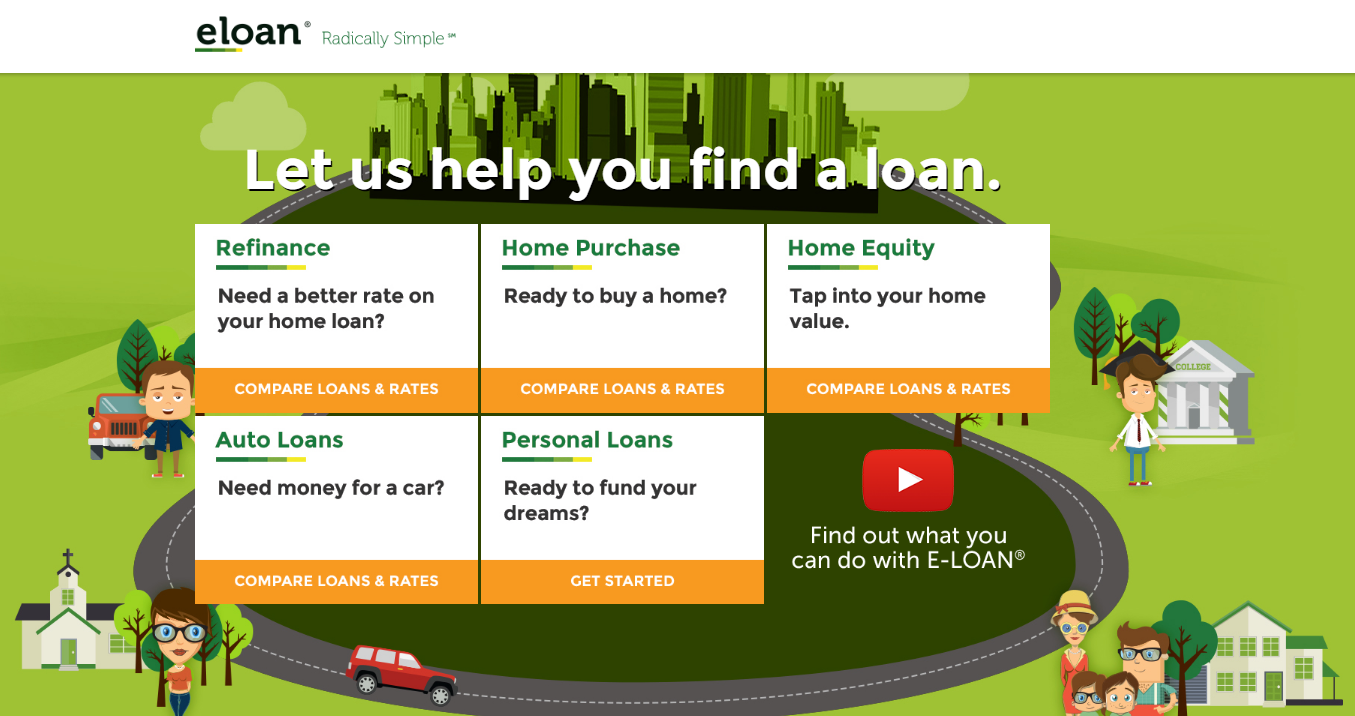 E-LOAN.com Savings And CDs