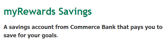 $100 Commerce Bank Savings Bonus