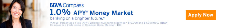 BBVA Compass Money Market Promotion