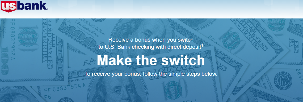 US Bank targeted promotion