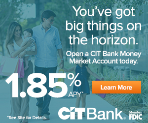 CIT Bank Money Market Offer